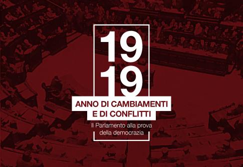 Il 1919: un anno cruciale nella storia d'Italia - Ciclo di conferenze con link agli audio-video