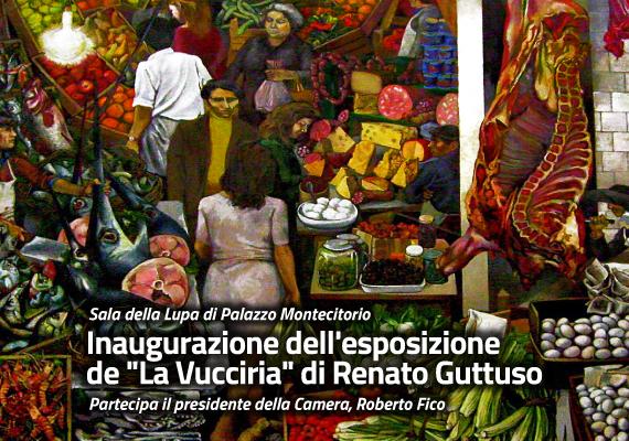 Mostra di Renato Guttuso - La Vucciria