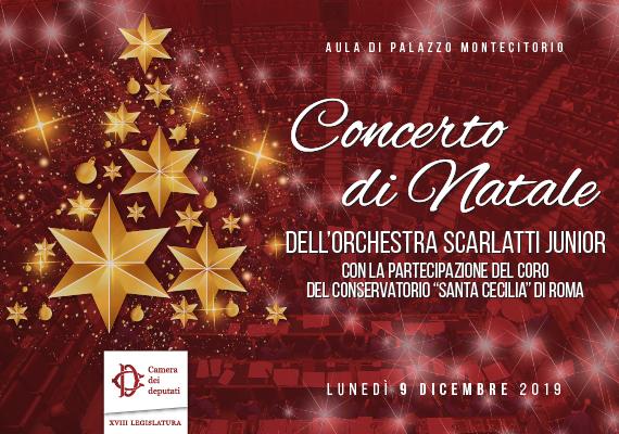 Concerto di Natale Orchestra Scarlatti Junior e Cordo del Conservatorio di Santa Cecilia di Roma