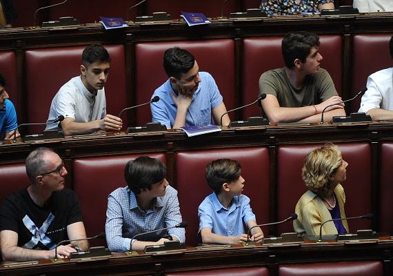 I ragazzi in Aula