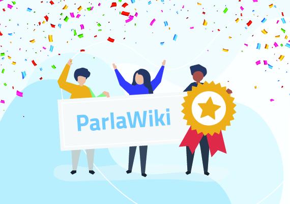 Cerimonia di premiazione del concorso Parlawiki