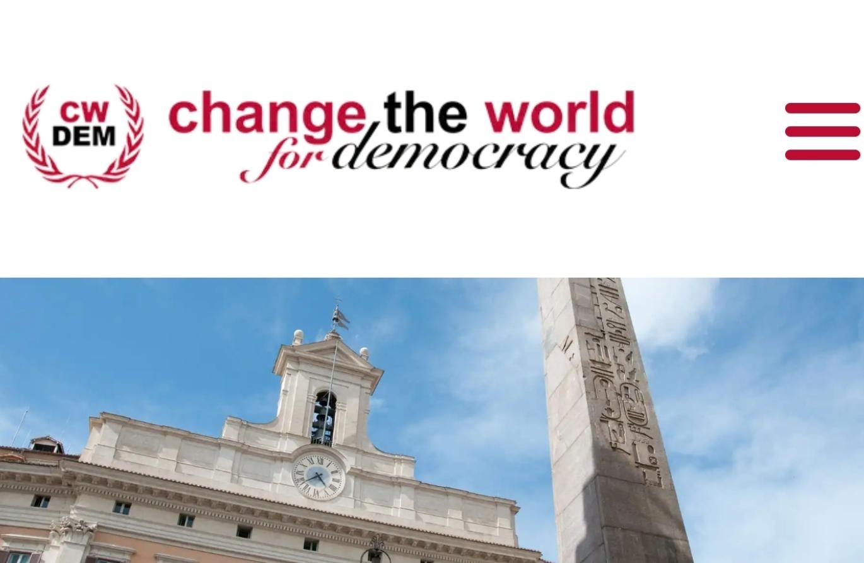 Change the world for democracy - Cerimonia di premiazione