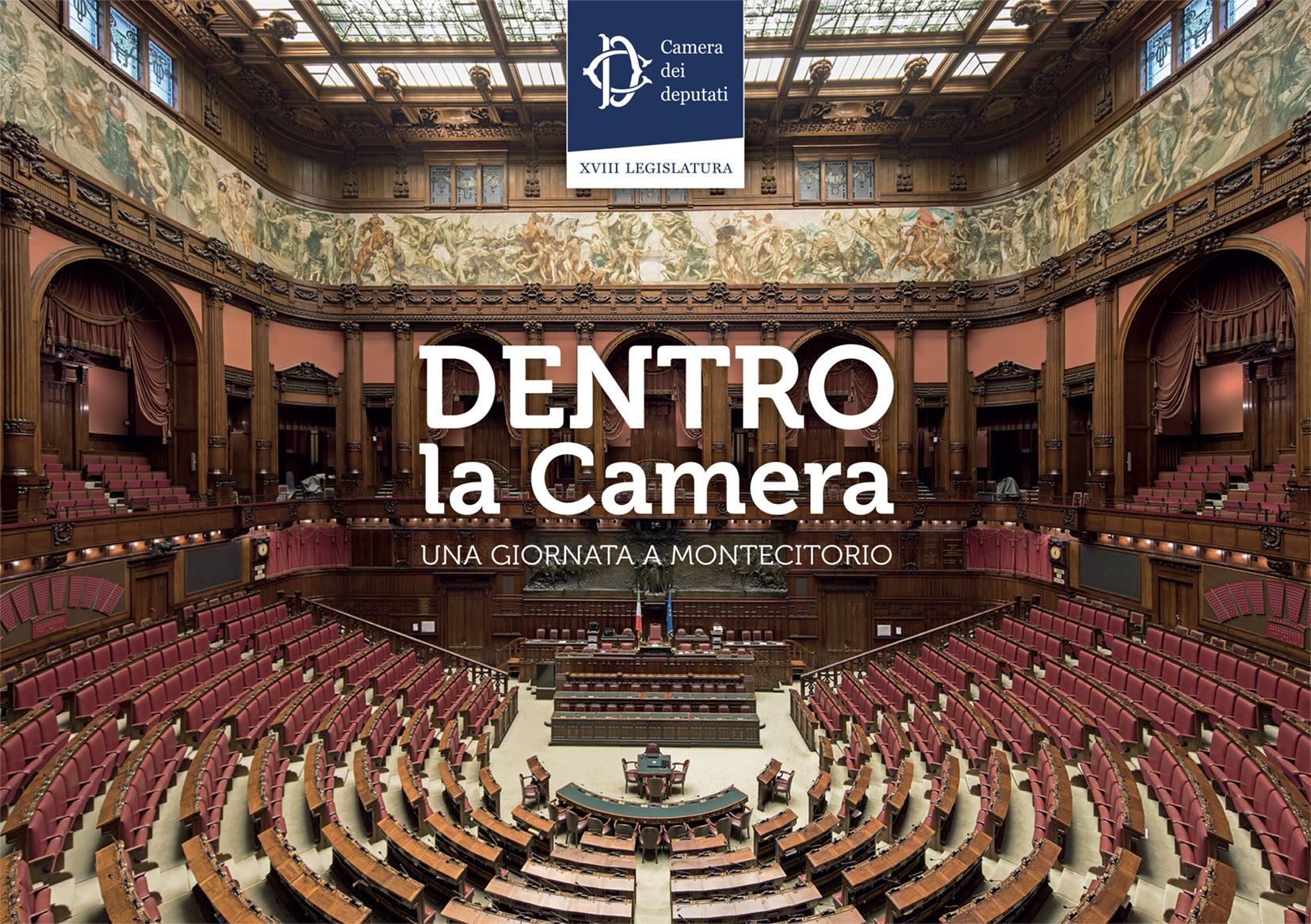 Pubblicazione informativa sull'attività ed i luoghi della Camera dei deputati