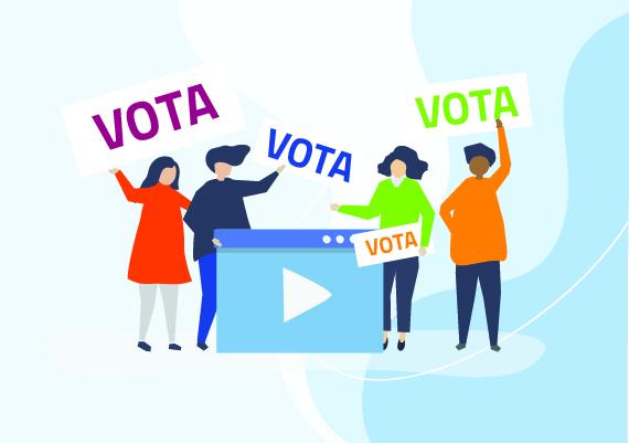 Vota on-line i lavori finalisti